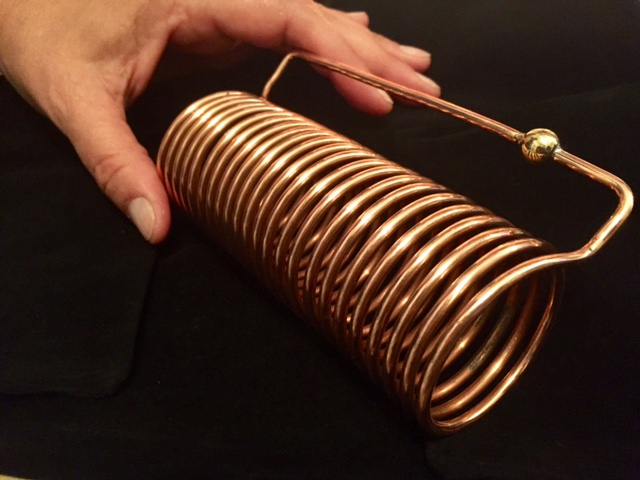 Quantum Healing coil large with hand