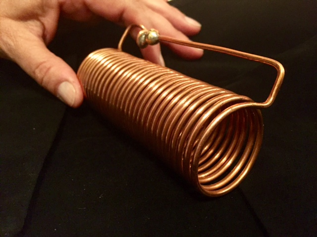 Quantum Healing coil standard with hand
