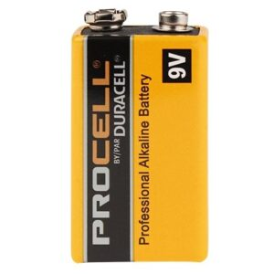 duracell procell 9v